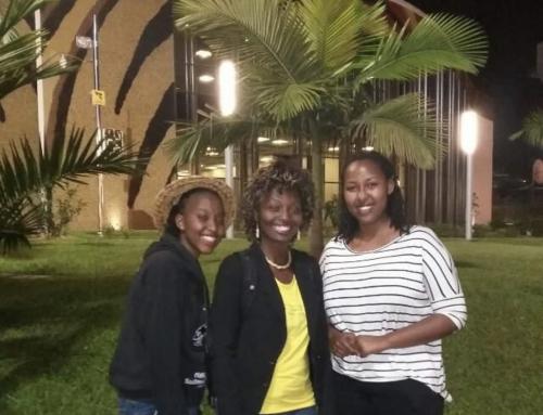Praktikanten aus Ruanda in Deutschland
